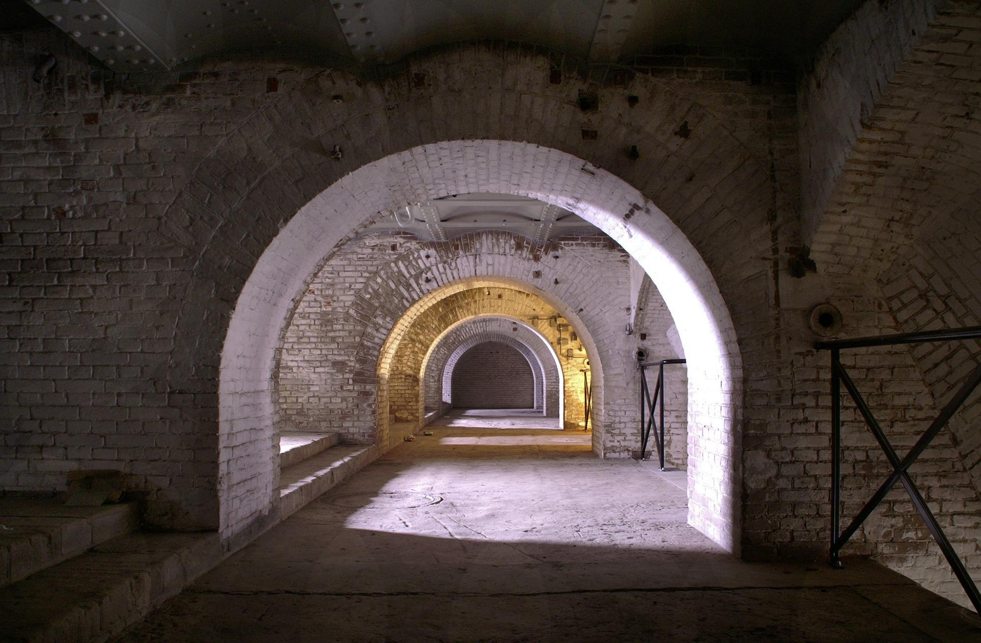 Fort Pannerden gang naar 5 rivier batterijen