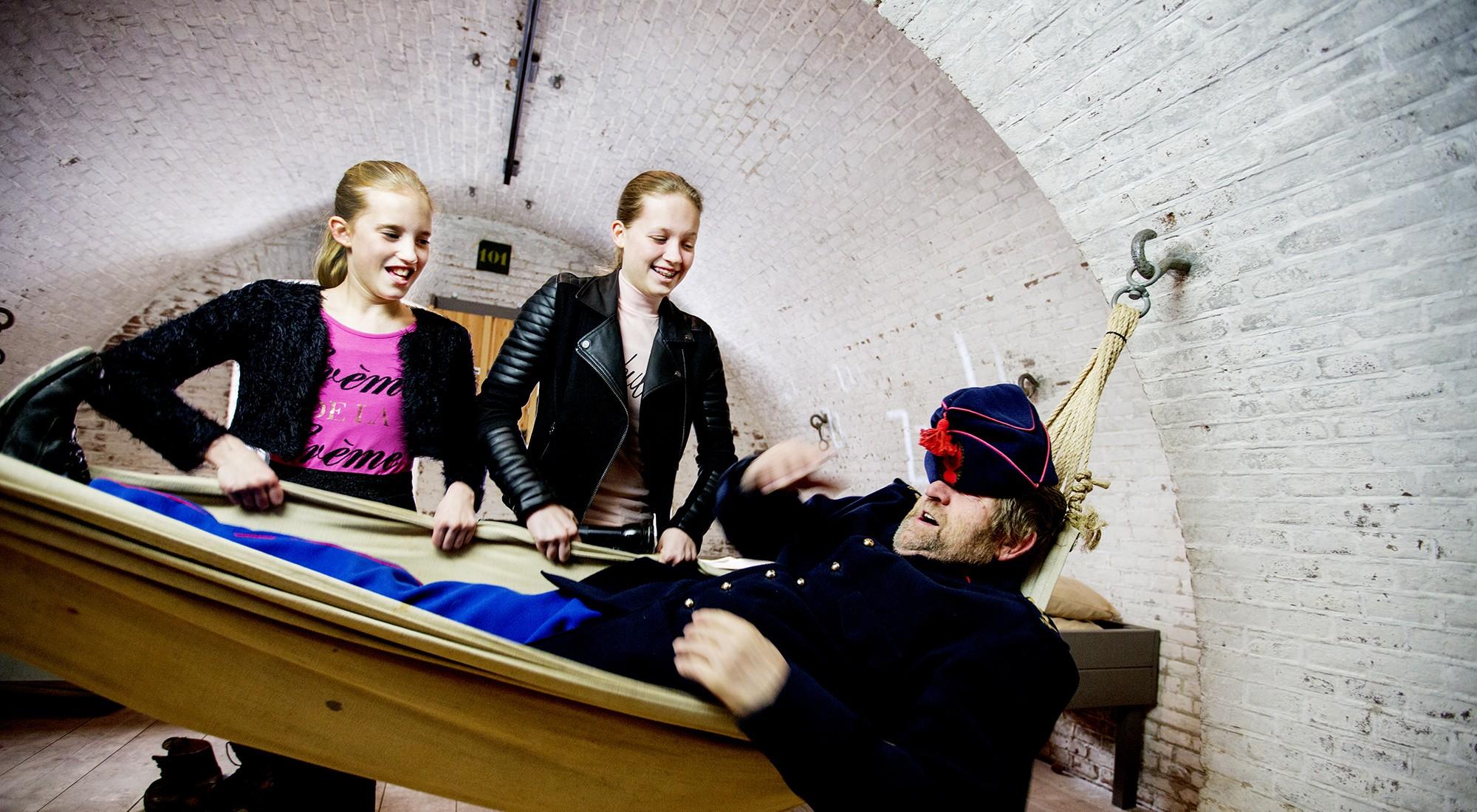 Fort Pannerden-soldaat bed