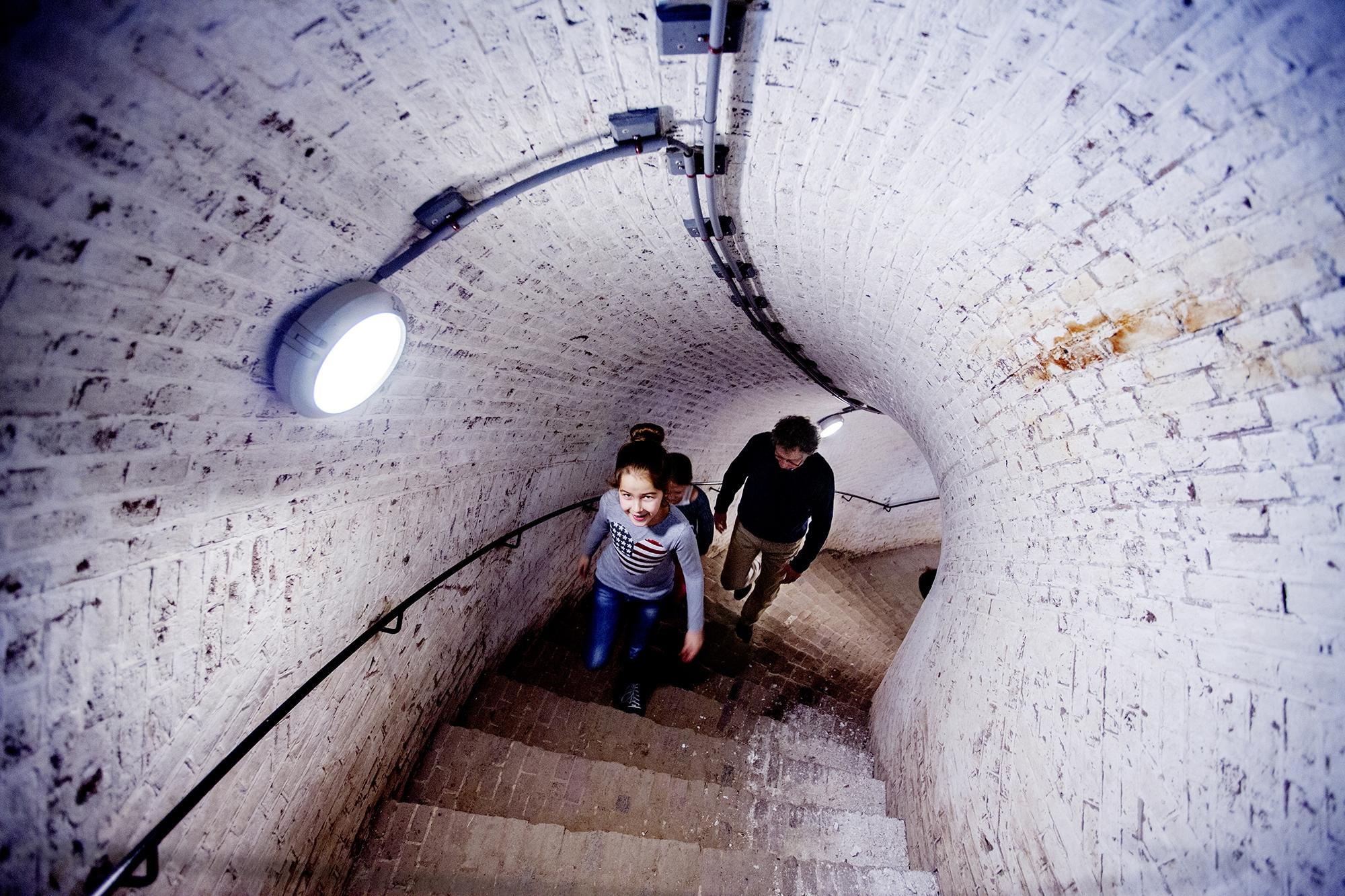 Fort Pannerden-trap binnen