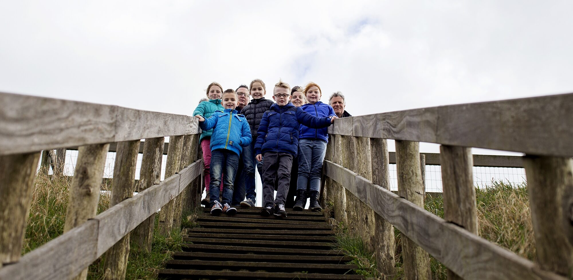 Fort Pannerden trap buiten uitzicht punt dak